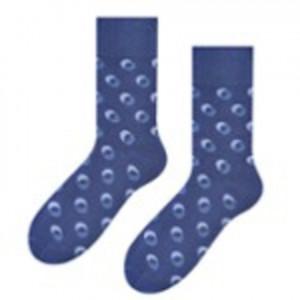 Ponožky k obleku - se vzorem 056 TEMNÁ DENIM 45-47