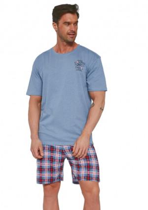 Pánské pyžamo Cornette 326/106 2XL Modrá