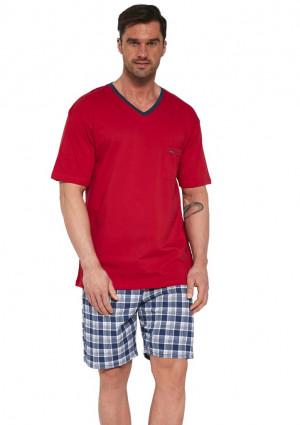 Pánské pyžamo Cornette 329/114 L Červená