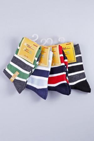Chlapecké ponožky 4pcs B502D  vícebarevná - Gemini vícebarevná 19-22