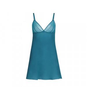 Dámská noční košilka NIGHTDRESS 11V940 Heavenly Blue(586) - Simone Perele Heavenly Blue 1
