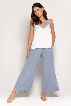 Dámské pyžamo Babella Pandora S-XL Modrý