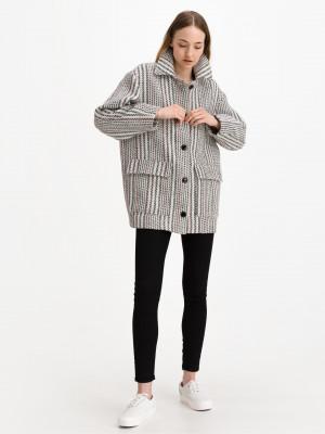 Kabát Salsa Jeans Černá
