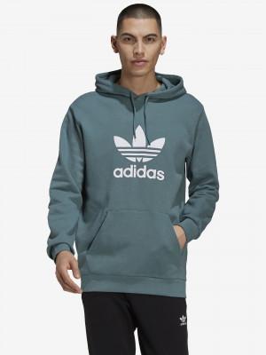 Trefoil Mikina adidas Originals Modrá