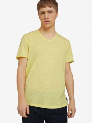 Triko Tom Tailor Žlutá