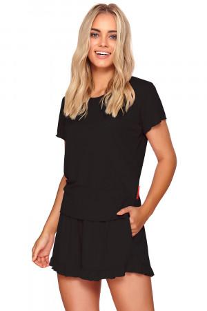 Dámské dvojdílné pyžamo Dn-nightwear PW.4202 Černá l