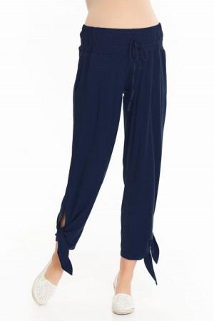 Dámské kalhoty Teris  - 9 fashion tmavě modrá