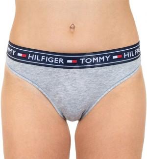 Dámské kalhotky UW0UW00726 004 - Tommy Hilfiger šedá