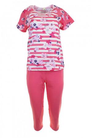 Dámské pyžamo 911 raspberry - REGINA malinová
