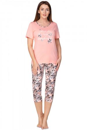 Dámské pyžamo 937 plus - REGINA korálová