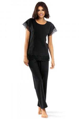 Dámské pyžamo Lorin P-1502 Černá