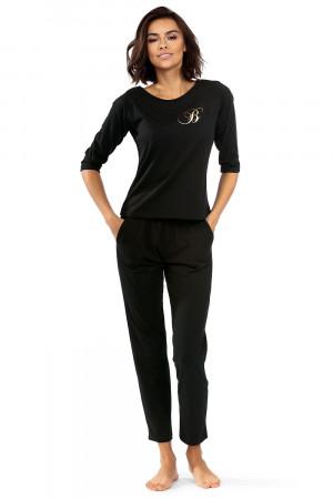 Dámské pyžamo Lorin P-1507 Černá