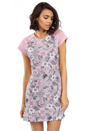 Dámská noční košilka Lorin P-1512 Práškově růžová
