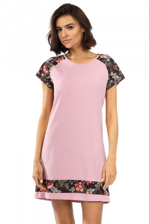 Dámská noční košilka Lorin P-1515 Práškově růžová