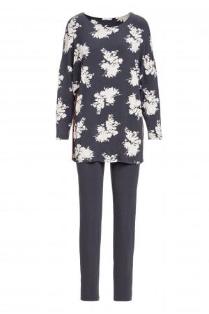 Vamp - Dámské elegantní pyžamo 13252 - Vamp gray anthracite s