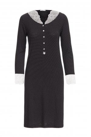Vamp - Dámská noční košile 13193 - Vamp black m