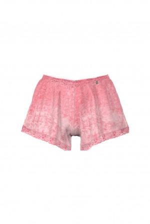 Vamp - Dámské sametové šortky 13845 - Vamp pink glow s