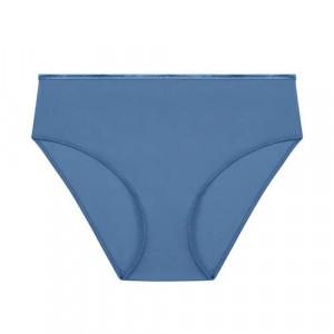 Dámské vysoké kalhotky 131777 Denim blue(584) - Simone Perele modrá 2