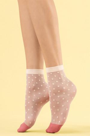Dámské ponožky Fiore Panna cotta 8 den VANILIA uni