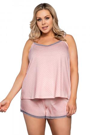 Dámské pyžamo Italian Fashion Marta  Losos xl