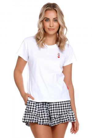 Dámské pyžamo Dn-nightwear PM.4239 bílý s