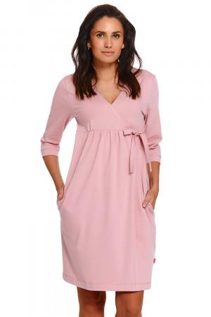 Těhotenský/kojící župan Dn-nightwear SBL.4243 papája xl