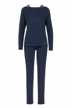 Dámské pyžamo 13294 - Vamp tmavě modrá