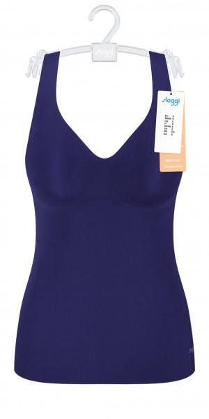 Dámská košilka sloggi ZERO Feel Bra Shirt EX - BLUE INK - SLOGGI BLUE INK - SLOGGI BLUE INK