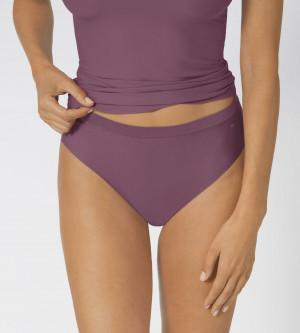 Dámské kalhotky Smart Micro Tai Plus - Lila Clover - TRIUMPH Lila Clover - TRIUMPH Lila Clover One