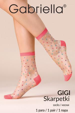 Dámské ponožky Gabriella Gigi code 524 bonbón 35-38