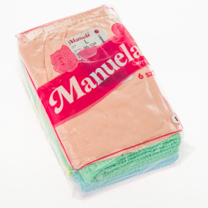Dámské kalhotky MANUELA 6ks - LAMA Mix barev
