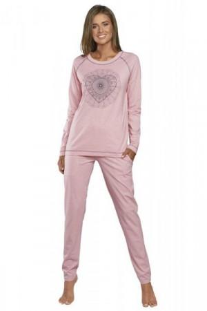 Italian Fashion Eliksir dl.r. dl.k. Dámské pyžamo S růžová