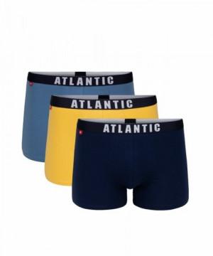 Atlantic 3MH-011 Pánské boxerky 3 ks XXL vícebarevná