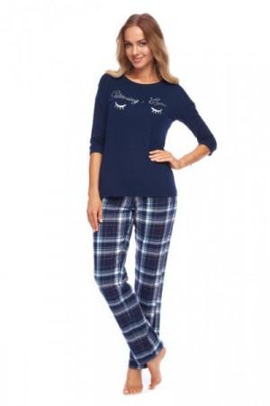 Rossli Nadia SAL-PY-1146 tmavě modré Dámské pyžamo S tmavě modrá