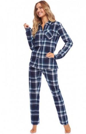 Rossli Verona SAL-PY-1144 Dámské pyžamo S tmavě modrá