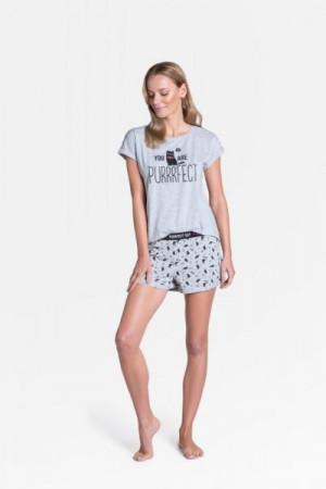Henderson Ladies Timber 38902-09X Dámské pyžamo L šedá
