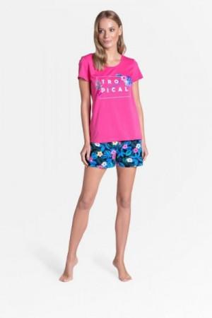 Henderson Ladies Tropicana 38905-43X Dámské pyžamo L růžová