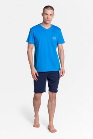 Henderson Dodge 38882-55X Pánské pyžamo L tmavě modrá