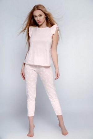 Sensis Florencia Dámské pyžamo L růžová