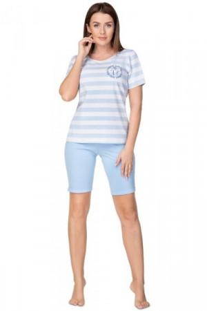 Regina 939 Dámské pyžamo S modrá