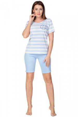 Regina 939 Dámské pyžamo 2XL XXL modrá