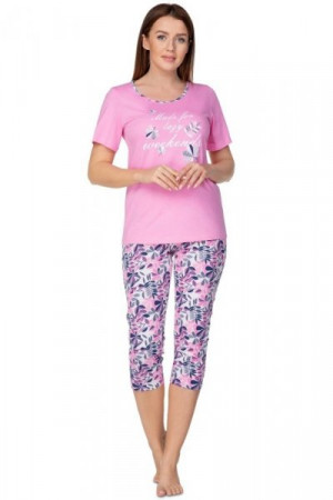 Regina 937 Dámské pyžamo M korálová