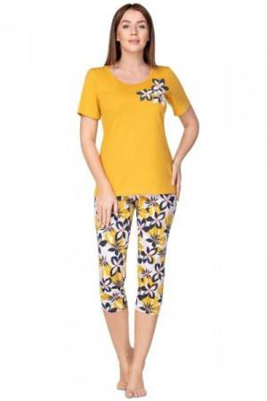 Regina 940 Dámské pyžamo M malinová