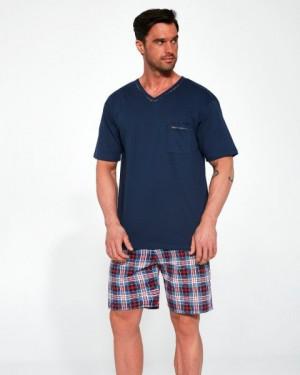 Cornette 329/113 Steve Pánské pyžamo S tmavě modrá