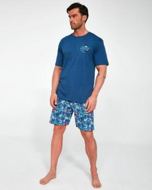 Cornette 326/104 Blue Dock Pánské pyžamo S jeans