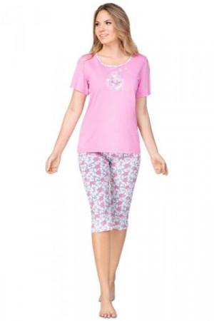 Regina 942 Dámské pyžamo XL meruňková