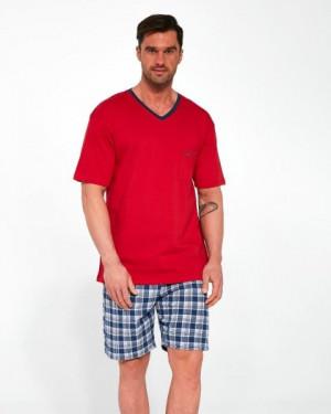 Cornette 329/114 Tom Pánské pyžamo XXL červená