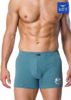 Key MXH 073 A21 Pánské boxerky M modrá