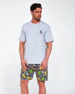 Cornette 326/107 Mexico Pánské pyžamo S melanž