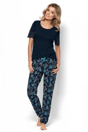 Nipplex Angela Dámské pyžamo S modrá